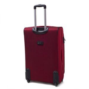 Большой чемодан (L) на 2 колесах | Wings 1706-2k | тканевый