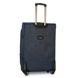 Большой чемодан (L) на 4 колесах   Ormi 701   тканевый