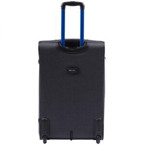 Большой чемодан (L) на 2 колесах | Wings 214-2k | тканевый