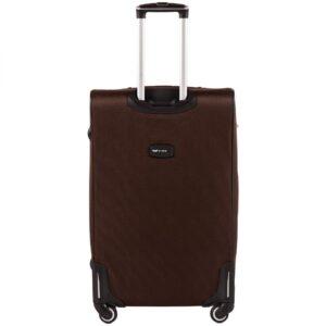 Большой чемодан (L) Wings 1609-4k | тканевый