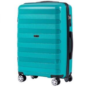 Средний чемодан (M) Wings PP07 | полипропилен