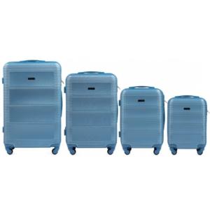 Комплект чемоданов Wings k-203 | пластиковый