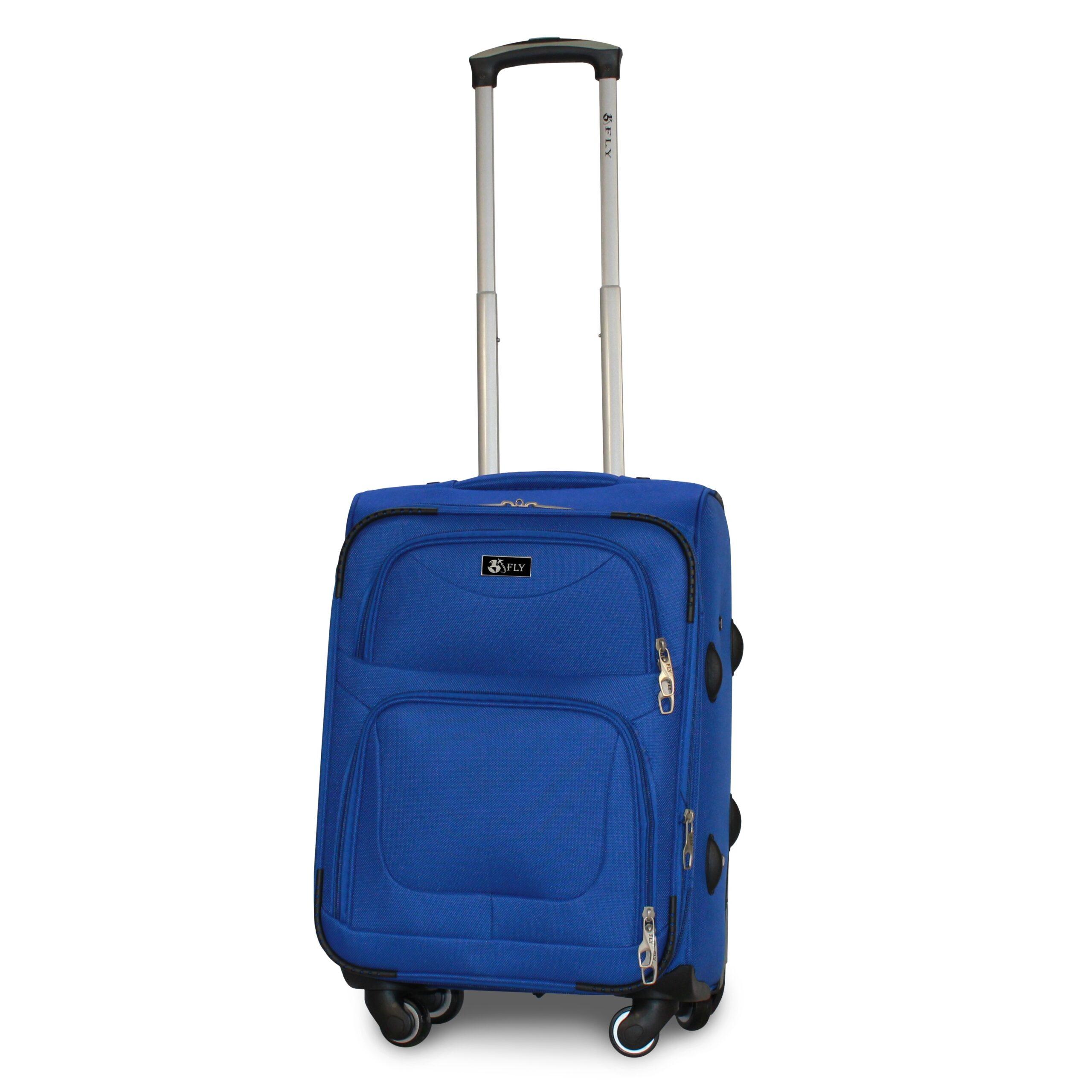 Маленький чемодан (S) Fly 1220-4k | тканевый