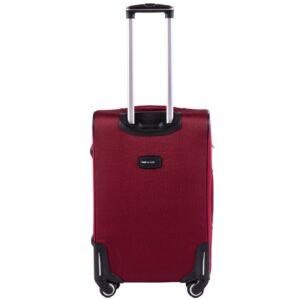 Комплект чемоданов на 4 колесах | Wings 214-4k | тканевый