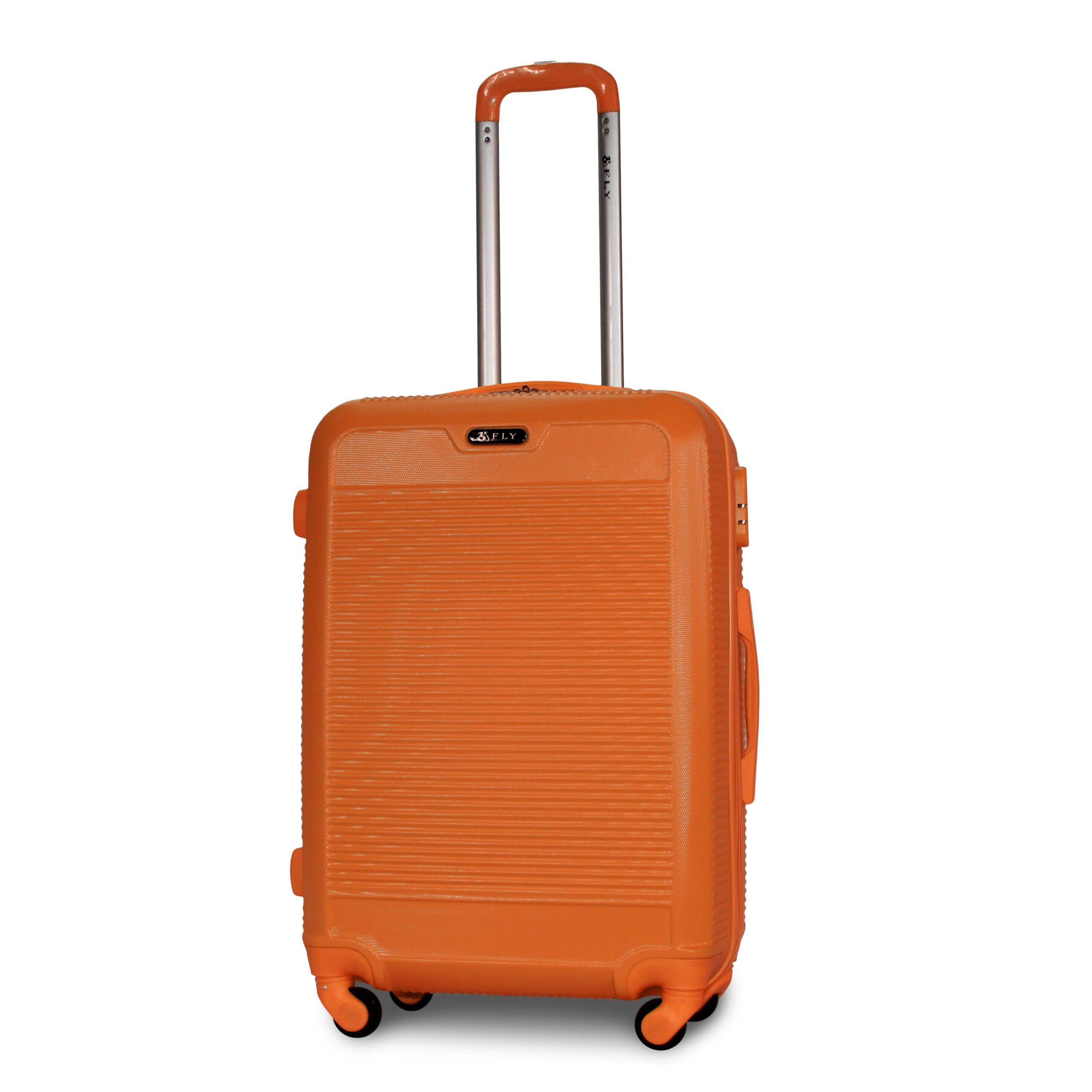 Средний чемодан (M) на 4 колесах | Fly 1093-F | пластиковый