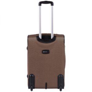 Комплект чемоданов на 2 колесах | Wings 1605-2k | тканевый