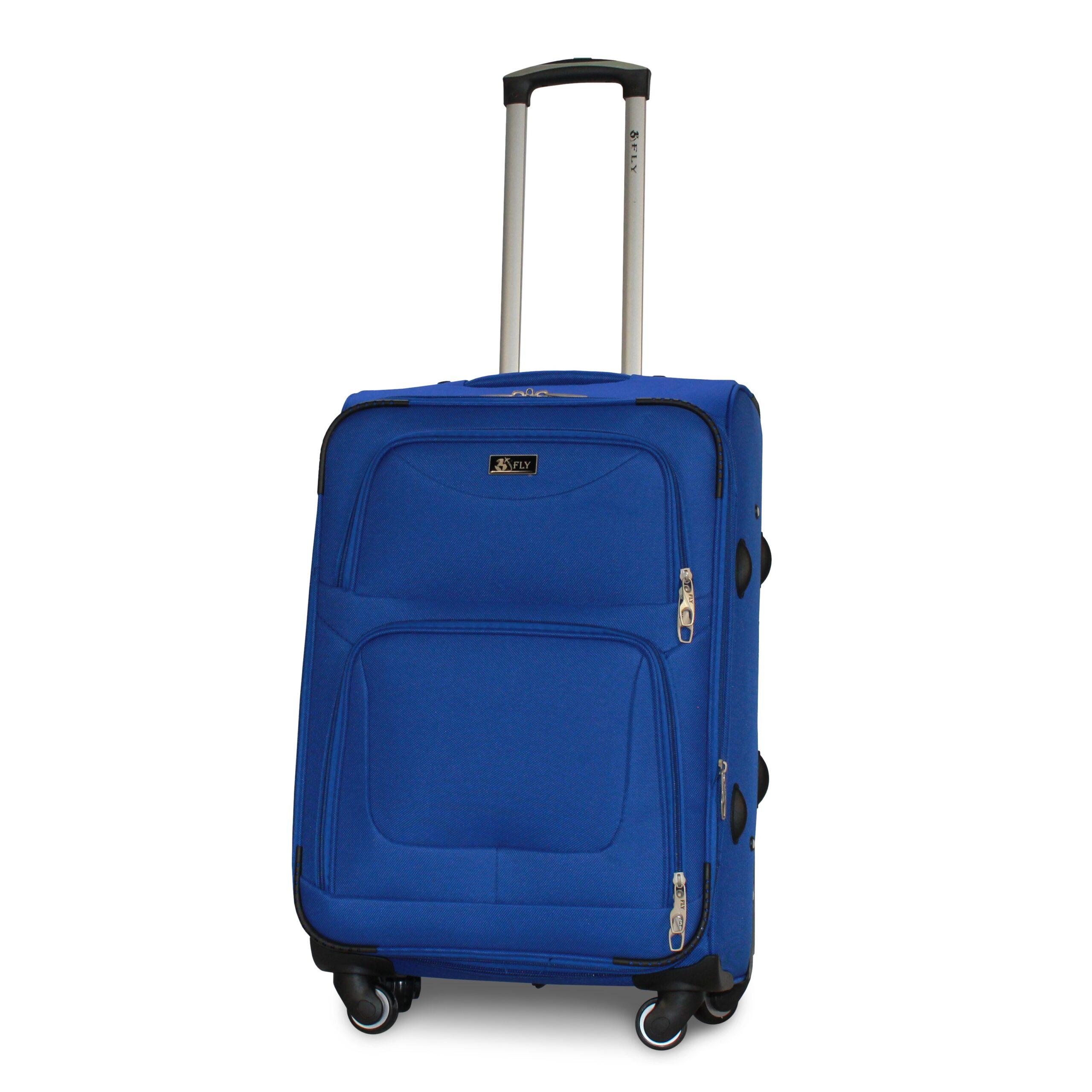 Средний чемодан (M) Fly 1220-4k | тканевый