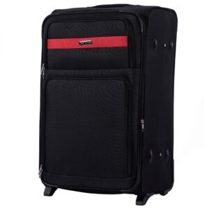 Большой чемодан (L) на 2 колесах | Wings 1605-2k | тканевый