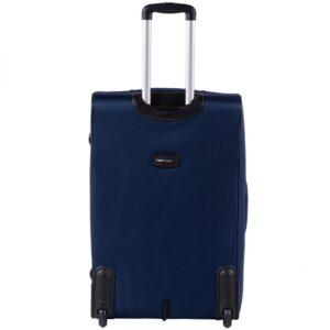 Большой чемодан (L) на 2 колесах | Wings 1601-2k | тканевый