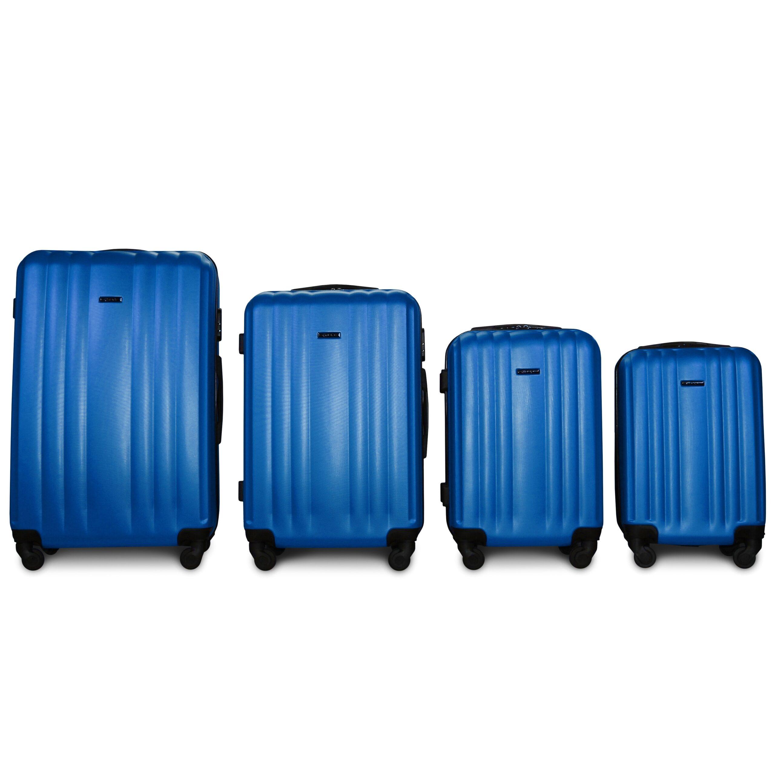 Комплект чемоданов на 4 колесах | Fly 614 | пластиковый