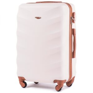 Большой чемодан (L) на 4 колесах | Wings 402 | пластиковый