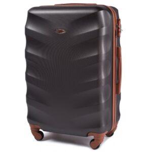 Средний чемодан (M) на 4 колесах | Wings 402 | пластиковый