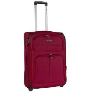 Большой чемодан (L) на 2 колесах | Fly 8279-2k | тканевый