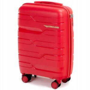 Средний чемодан (M) на 4 колесах | Wings PP08 | полипропилен
