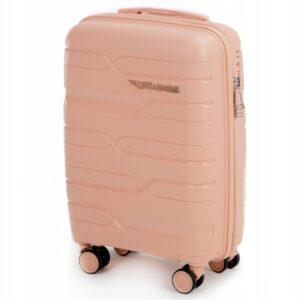 Большой чемодан (L) на 4 колесах | Wings PP08 | полипропилен