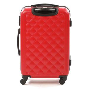 Средний чемодан (M) на 4 колесах | Hachi 013 | пластиковый