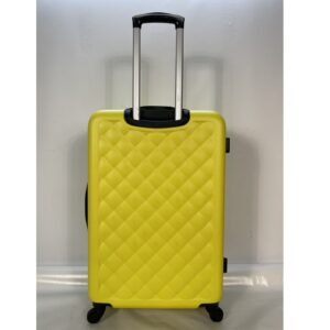 Большой чемодан (L) на 4 колесах   Hachi 013   пластиковый